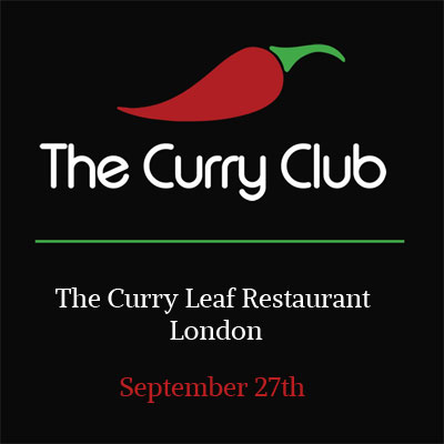 The Curry Club Flyer